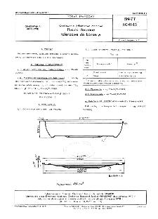 Opakowania jednostkowe metalowe - Puszki tłoczone talerzowe do konserw BN-77/5041-13