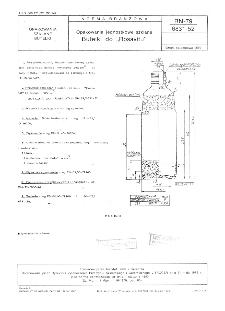 "Opakowania jednostkowe szklane - Butelki do ""Rosavitu"" BN-79/6831-52"
