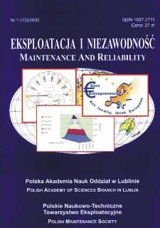 Eksploatacja i Niezawodność = Maintenance and Reliability Nr 1 (13)2002