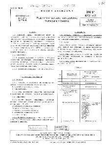 Pojemniki szklane aerozolowe - Wymagania i badania BN-81/6831-45