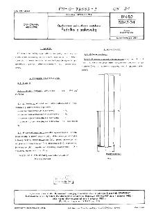 Opakowania jednostkowe metalowe - Pudełko z zakrywką BN-82/5043-04