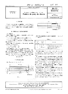 Opakowania jednostkowe metalowe - Pudełko do pasty do obuwia BN-82/5043-06