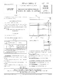 Opakowania jednostkowe metalowe - Pudełko do pasty do podłóg BN-82/5043-07