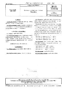 Opakowania jednostkowe metalowe - Kanistry BN-82/5045-02