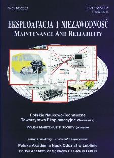 Eksploatacja i Niezawodność = Maintenance and Reliability Nr 2 (14)2002