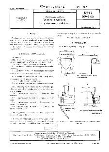 Opakowania metalowe - Wiadra z wiekiem zdejmowanym i pałąkiem BN-82/5046-05