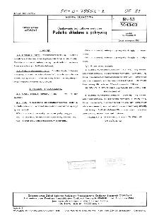Opakowania jednostkowe metalowe - Pudełka składane z pokrywką BN-83/5043-02