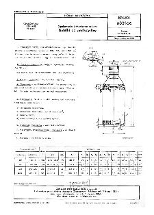 Opakowania jednostkowe szklane - Butelki do pestycydów BN-83/6831-06