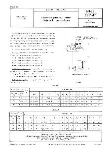 Opakowania jednostkowe szklane - Pojemniki aerozolowe BN-83/6831-47