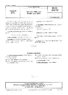 Opakowania szklane leków - Butelki typu LB-5 BN-83/6831-53