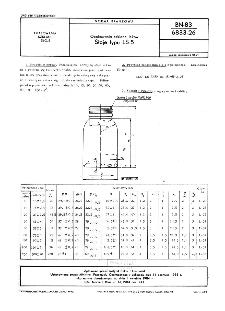 Opakowania szklane leków - Słoje typu LS-5 BN-83/6833-26