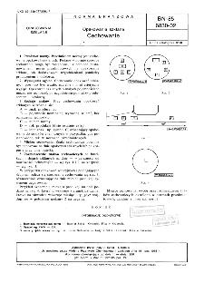 Opakowania szklane - Cechowanie BN-85/6830-02