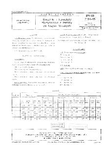 Skrzynki i komplety skrzynkowe z tarcicy do łożysk tocznych BN-85/7161-45