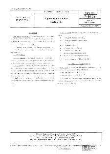 Opakowania łubowe - Łubianki BN-85/7166-01