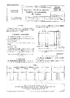 Opakowania jednostkowe tekturowe - Pudełka do proszków do prania BN-85/7351-30