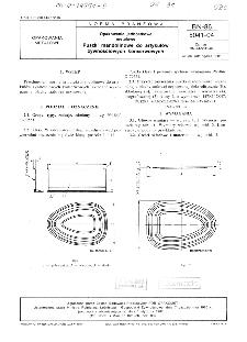 Opakowania jednostkowe metalowe - Puszki mandolinowe do artykułów żywnościowych konserwowych BN-86/5041-04