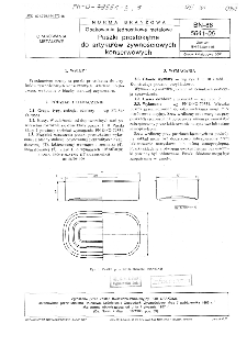 Opakowania jednostkowe metalowe - Puszki prostokątne do artykułów żywnościowych konserwowych BN-86/5041-06