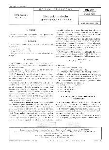 Skrzynki z drutu - Ogólne wymagania i badania BN-86/5045-08