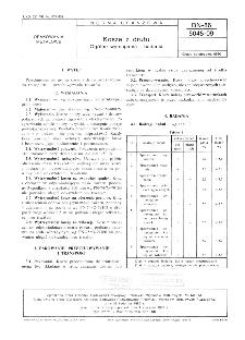 Skrzynki z drutu - Ogólne wymagania i badania BN-86/5045-09