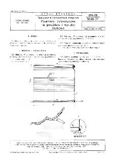 Opakowania transportowe metalowe - Pojemniki cylindryczne na gwoździe i wyroby śrubowe BN-86/5046-07