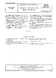Opakowania jednostkowe szklane - Słoje TO do ryb BN-86/6833-27