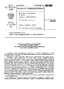 Kompleksowy sposób pomiaru przewodzenia, przejmowania i przenikania ciepła oraz urządzenie do kompleksowego pomiaru przewodzenia, przejmowania i przenikania ciepła : opis patentowy patentu tymczasowego nr 107489
