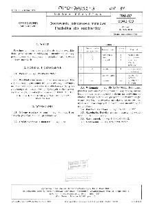 Opakowania jednostkowe metalowe - Pudełka do sucharów BN-87/5043-09