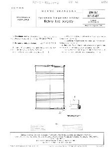 Opakowania transportowe metalowe - Bębny bez obręczy BN-87/5046-02