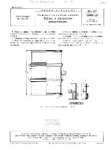 Opakowania transportowe metalowe - Bębny z obręczami nasadzanymi BN-87/5046-03