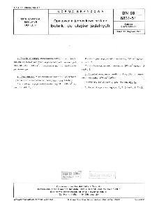 Opakowania jednostkowe szklane - Butelki do olejów jadalnych BN-88/6831-51