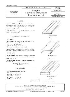 Skrzynki i komplety skrzynkowe drewniane do ryb BN-88/7161-54