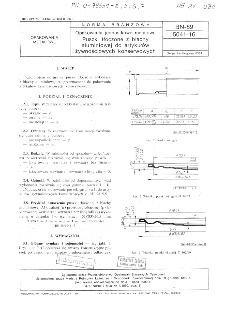 Opakowania jednostkowe metalowe - Puszki tłoczone z blachy aluminiowej do artykułów żywnościowych konserwowych BN-89/5041-16
