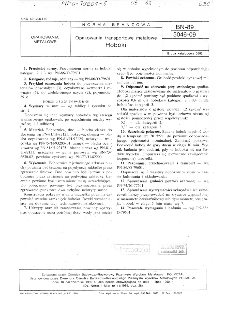 Opakowania transportowe metalowe - Hoboki BN-89/5046-09