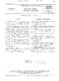 Zamknięcia metalowe - Zakrywki koronowe BN-90/5048-09