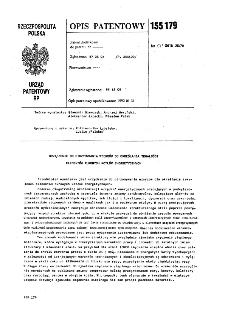 Urządzenie do otrzymywania wzorców do określania trwałości elementów rurowych kotłów energetycznych : opis patentowy nr 155179