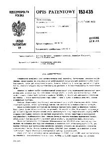 Stal żarowytrzymała : opis patentowy nr 15343