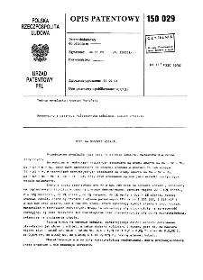 Stop na osnowie kobaltu : opis patentowy nr 150029