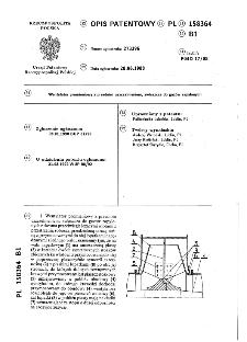 Wentylator promieniowy z przednim uszczelnieniem, zwłaszcza do gazów zapylonych : opis patentowy nr 158364