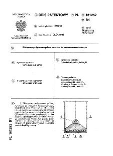 Elektryczny podgrzewacz paliwa, zwłaszcza do pojazdów samochodowych : opis patentowy nr 161252