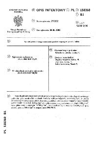 Sposób galwanicznego nanoszenia powłok stopowych palladu i niklu : opis patentowy nr 158360