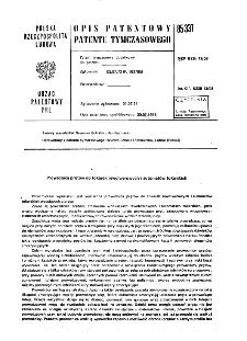 Prowadnica prętów do tokarek rewolwerowych i automatów tokarskich : opis patentowy patentu tymczasowego nr 85337