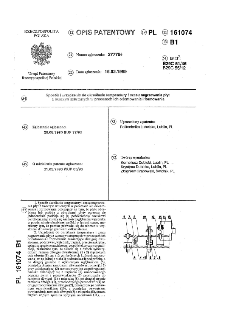 Sposób i urządzenie do określania temperatury i czasu nagrzewania płyt z tworzyw sztucznych w procesach ich orientowania i formowania : opis patentowy nr 161074