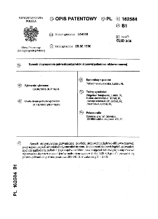 Sposób otrzymywania galwanicznej powłoki stopowej palladowo-nlklowo-renowej : opis patentowy nr 162584