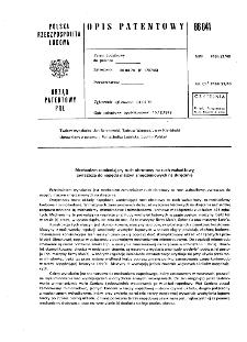Mechanizm zamieniający ruch obrotowy na ruch wahadłowy, zwłaszcza do napędu maszyn zmęczeniowych na skręcanie : opis patentowy nr 86841