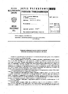 Rotametr zwłaszcza do gazów o dużej wilgotności i temperaturze wyższej od temperatury otoczenia : opis patentowy patentu tymczasowego nr 98010