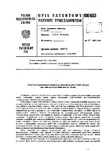 Urządzenie zapewniające prawidłową współpracę powierzchni trących pary ciernej w badaniach zużycia i tarcia : opis patentowy patentu tymczasowego nr 100653