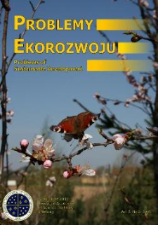Problemy Ekorozwoju : studia filozoficzno-sozologiczne Vol. 3, Nr 2, 2008