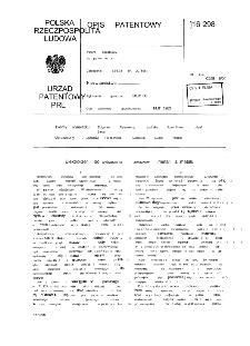 Elektrolizer do wytwarzania związków metali z metalu : opis patentowy nr 116298