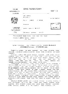 Sposób odzyskiwania cyny i ołowiu ze szlamów cynowo-ołowiowych, powstających zwłaszcza w hutnictwie miedzi : opis patentowy nr 142653