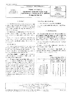 Pojazdy samochodowe - Dopuszczalna zawartość tlenku węgla, węglowodorów i tlenków azotu w spalinach - Wymagania i badania BN-79/1353-11